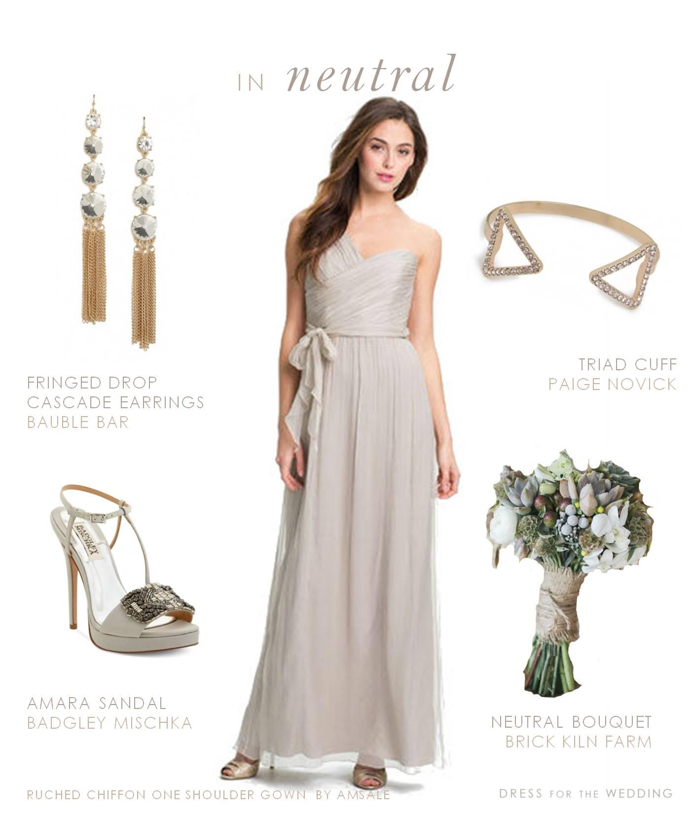 Fullsize Of Taupe Bridesmaid Dresses