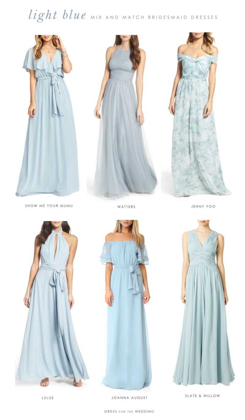 Large Of Slate Blue Bridesmaid Dresses