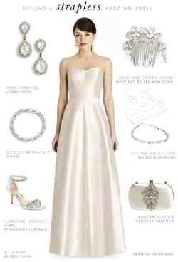 Small Of Strapless Wedding Dresses
