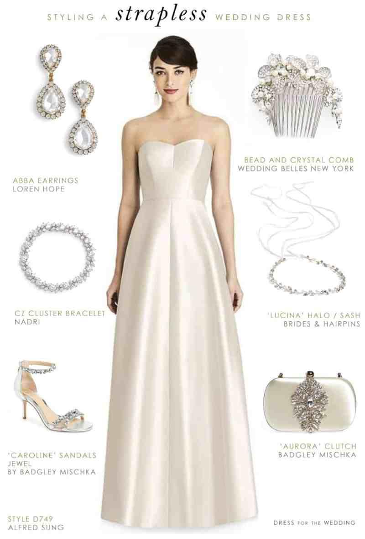 Large Of Strapless Wedding Dresses