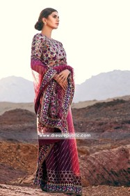 DRP6149 - Mina Hassan Chiffon Collection 2016