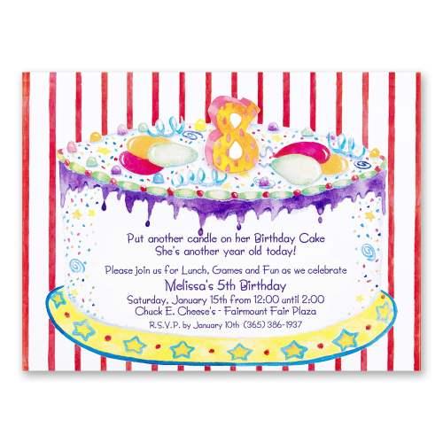 Medium Of Birthday Invitation Wording