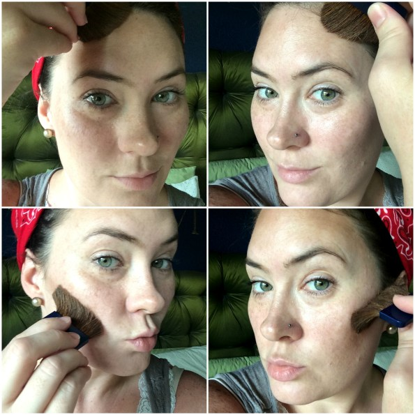 Strobing Collage (Contouring)