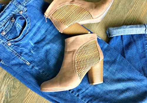 Maurices Denim with Qupid Booties
