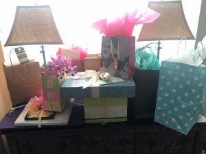 gifts, mastectomy, pink party, encouragement