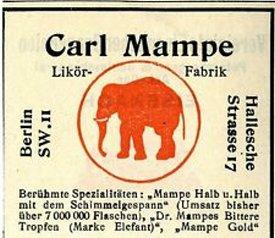 carl mampe trade mark