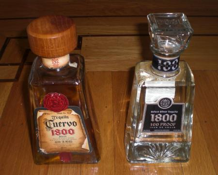 1800 tequila vs cuervo 1800 Review: 1800 Select Silver Tequila