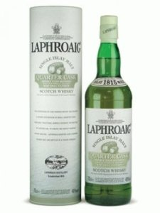 laphroaig quarter cask 225x300 Review (Plus Live Tasting): Laphroaig 10 Years Old and Quarter Cask Scotch