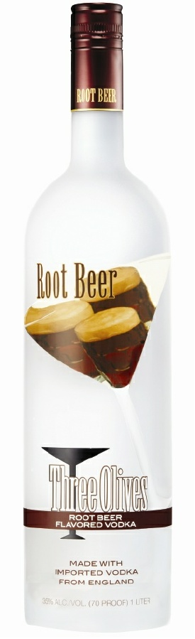 three olives root beer1 Review: Three Olives Root Beer Vodka and Triple Shot Espresso Vo