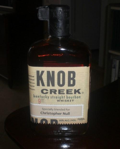knob creek for christopher null Review: Knob Creek Bourbon