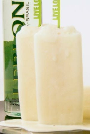 leblon popsicle Recipe: Leblon Lychee Popsicle