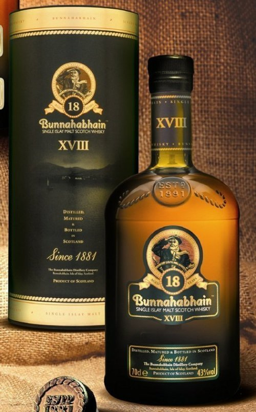 bunnahabhain 18 year scotch Review: Bunnahabhain 18 Year Old Scotch