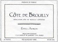 potel aviron cote de brouilly Review: 2006 Potel Aviron Cote de Brouilly Vielles Vignes