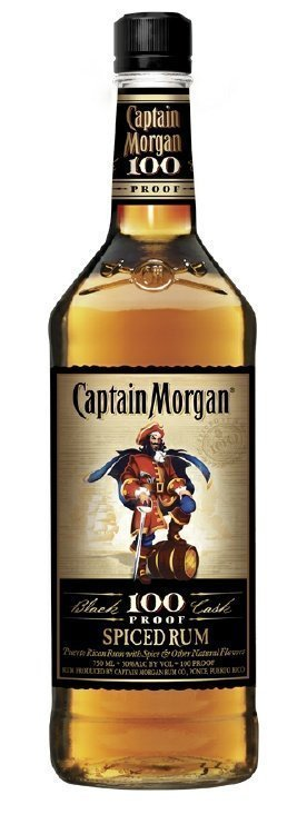 captain morgan 100 proof Review: Captain Morgan Spiced Rum 100 Proof