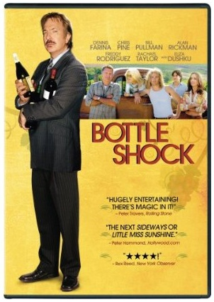 bottle shock dvd Win a Copy of Bottle Shock on DVD!