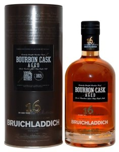 bruichladdich 16 year bourbon matured 235x300 Review: Four New Bruichladdich Scotch Expressions