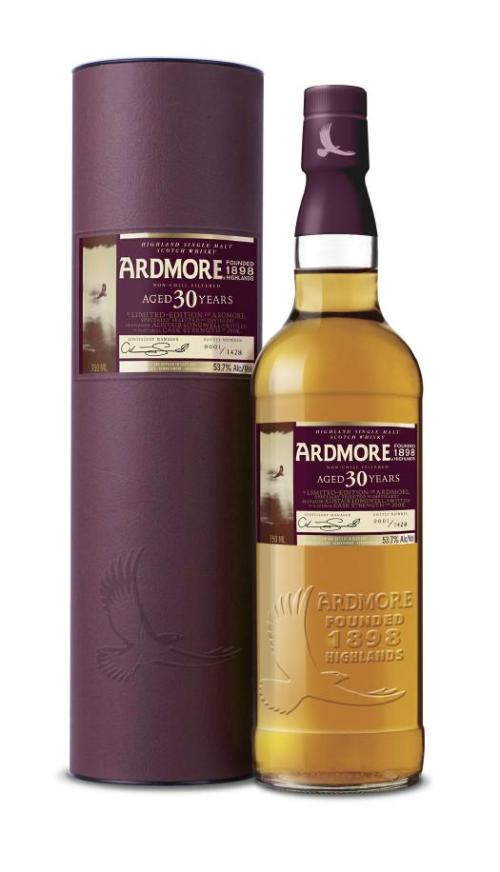 Ardmore 30 years old Review: Ardmore 30 Year Old Scotch Whisky