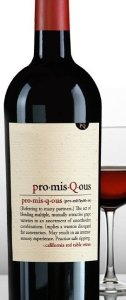 promisqous wine 126x300 Review: pro mis Q ous Wines