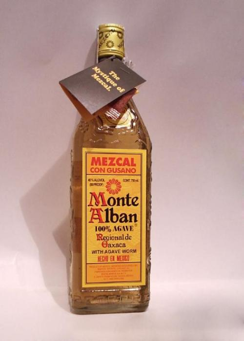 monte alban mezcal Review: Monte Alban Mezcal