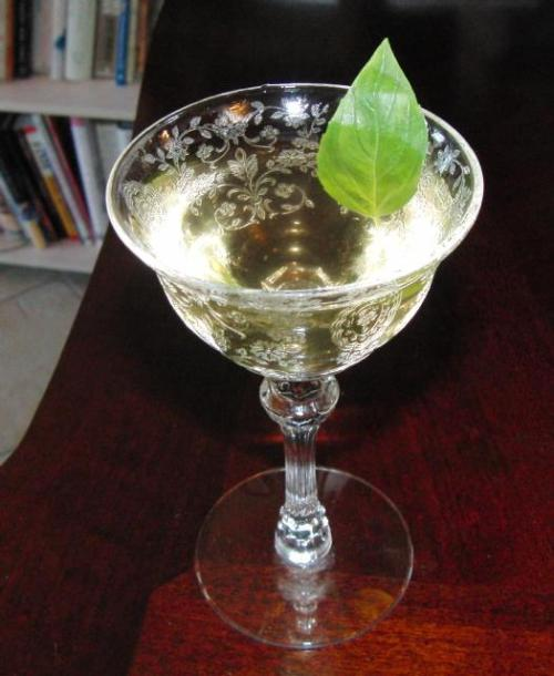 sweet basil cocktail Recipe: Sweet Basil Cocktail