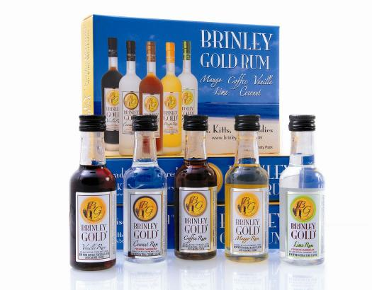 brinley gold rums flavored