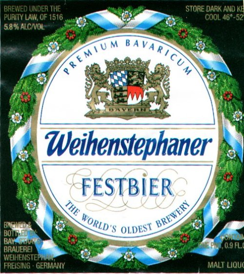 weihenstephaner festbier Review: Weihenstephaner 2009 Festbier