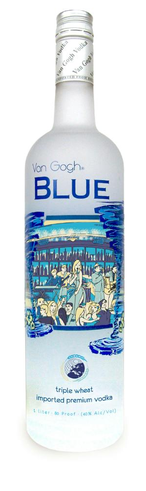 van gogh blue vodka Review: Van Gogh Blue Triple Wheat Vodka