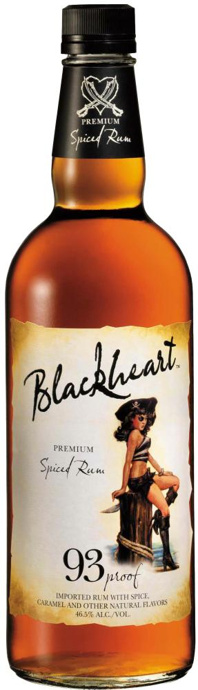 blackheart spiced rum Review: Blackheart Spiced Rum