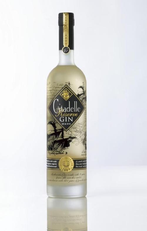 Citadelle Gin Reserve Vintage 2009 Review: Citadelle Reserve Gin 2009 Vintage