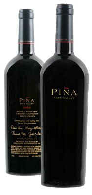 pina napa valley Review: 2007 Pina Napa Valley Single Vineyard Cabernets
