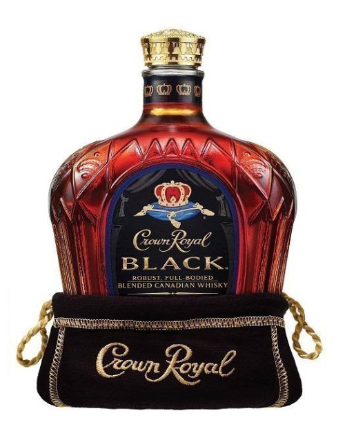 crown royal black Review: Crown Royal Black Canadian Whisky