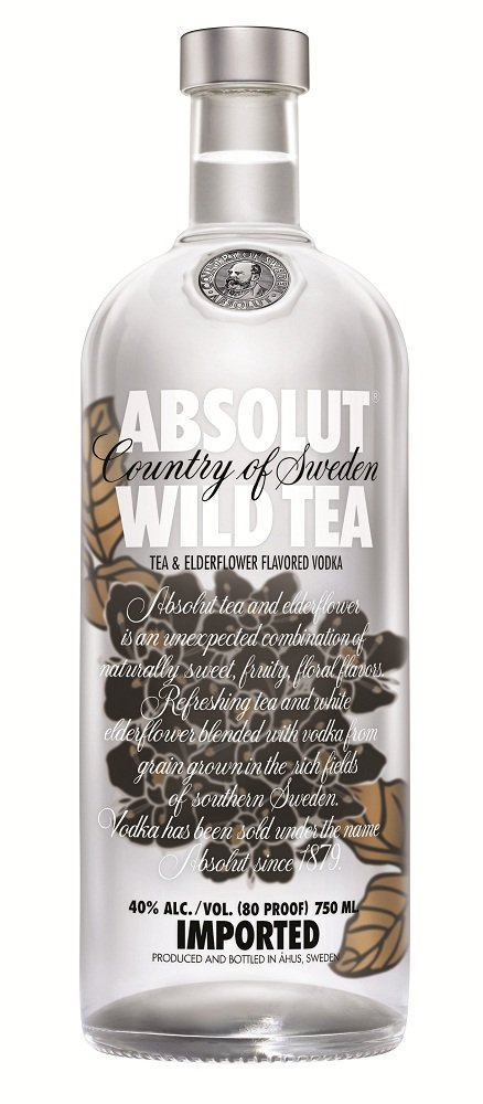 absolut wild tea Review: Absolut Wild Tea Vodka