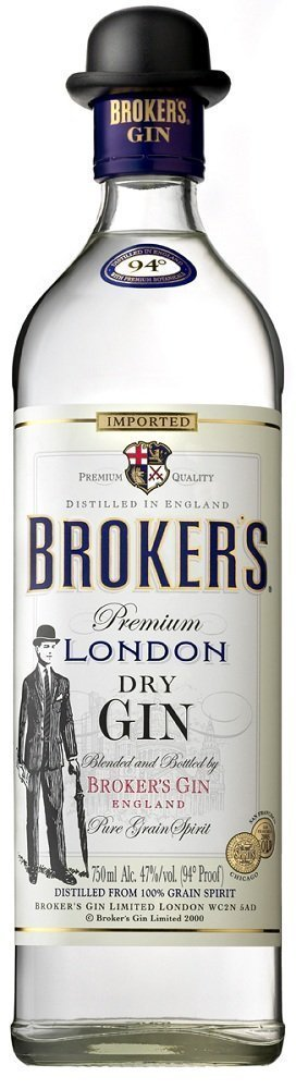 BrokersGin Review: Brokers London Dry Gin