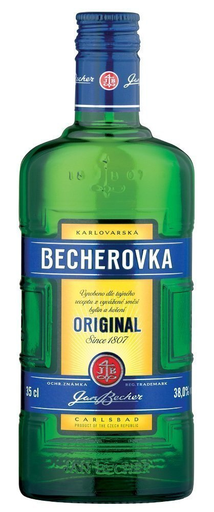 becherovka Review: Becherovka Original Liqueur