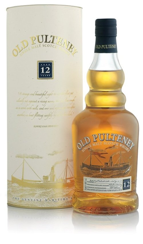 old pulteney 12 years old Review: Old Pulteney Single Malt Scotch Whisky 12 Years Old