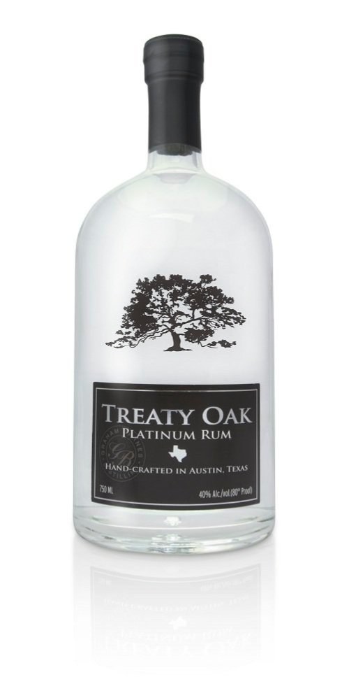Treaty Oak Rum Review: Treaty Oak Platinum Rum