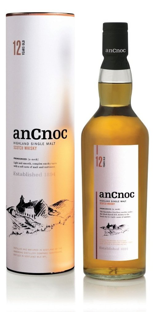anCnoc 12 years old Review: anCnoc Highland Single Malt Scotch 12 Years Old