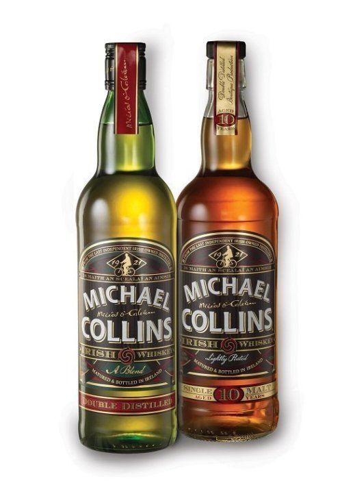michael collins whiskey Review: Michael Collins Blended Irish Whiskey and Single Malt 10 Year Old