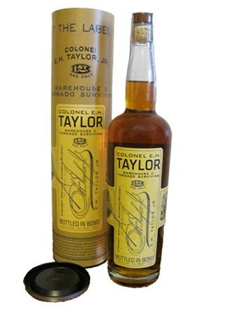 EHTaylor Whs C Tornado Surviving Bottle and Canister Low Res Review: Col. E.H. Taylor Jr. Warehouse C Tornado Surviving Bourbon