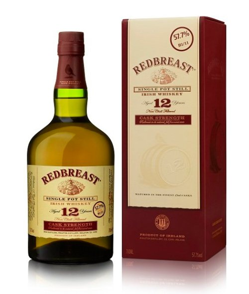 Redbreast 12 years old cask strength Review: Redbreast 12 Years Old Cask Strength Irish Whiskey