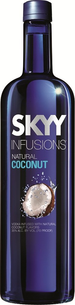 skyy coconut infusions vodka Review: Skyy Infusions Natural Coconut Vodka