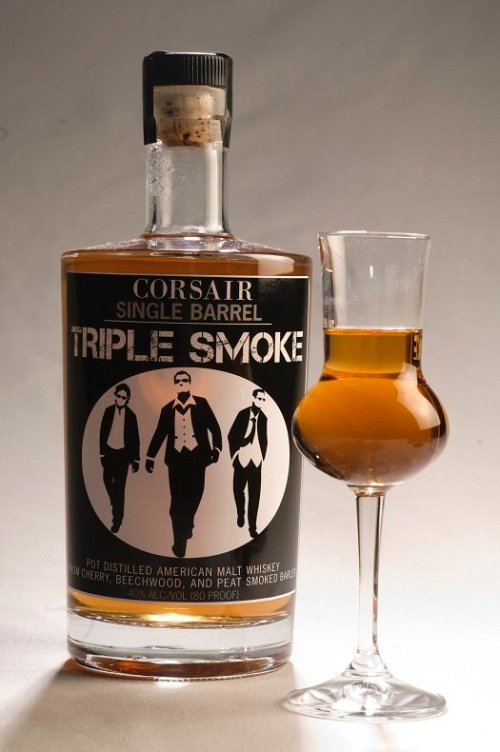 Corsair Triple Smoke Review: Corsair Triple Smoke Single Barrel American Malt Whiskey