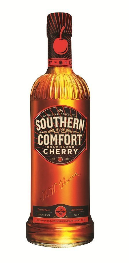 southern comfort cherry Review: Southern Comfort Bold Black Cherry