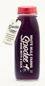 spodee 158x300 Review: White Mule Farms Spodee    Wine with a Kick