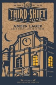 third shift amber lager 196x300 Review: Third Shift Amber Lager