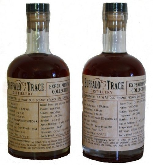 Buffalot Trace Experimental Collection Giant Barrels Review: Buffalo Trace Giant French Oak Barrels Experiments Bourbons