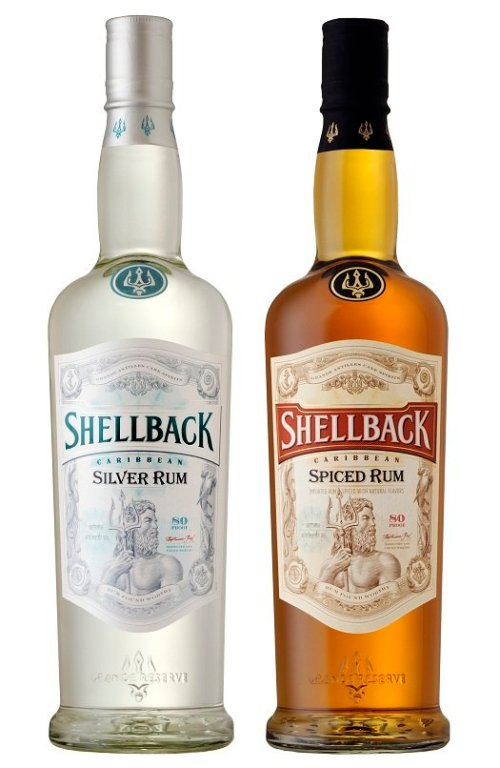Shellback rum silver and s
