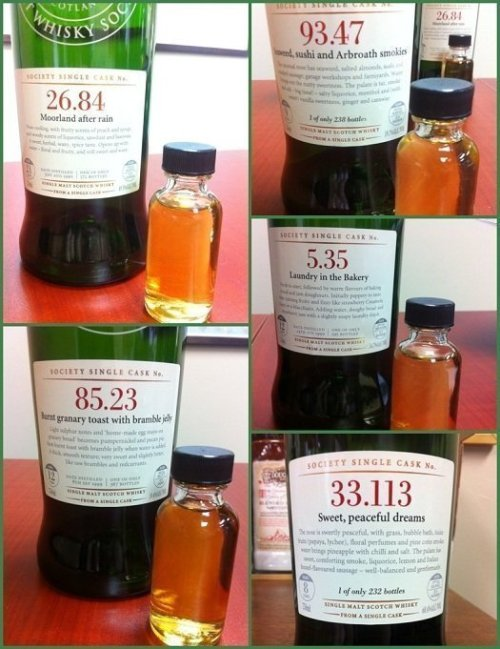 october 2012 smws Review: Scotch Malt Whisky Society October 2012 Outturn