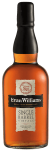 Evan Williams Single Barrel 2003 Vintage Bottle Shot 102x300 Review: Evan Williams Single Barrel Bourbon 2003 Vintage