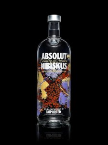 ABSOLUT HIBISKUS vodka